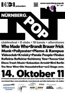 Nürnberg Pop: Die Frankenmetropole wandert auf vorbildlichen Pfaden